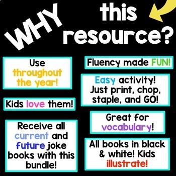 Reading Fluency Joke Book BUNDLE
