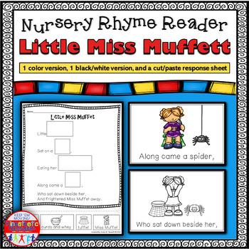 Reading Fluency - Nursery Rhyme Reader: Little Miss Muffet