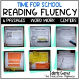 Reading Fluency Passages - School Time