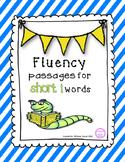 Short i Reading Fluency Pyramids