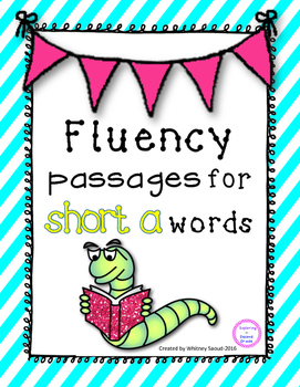 Short a Reading Fluency Pyramids