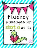 Short a Reading Fluency Pyramids