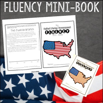 Reading Fluency Passages: American Government Grades 2 - 4