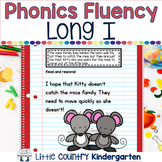 Reading Fluency Passages: Phonics Month of Long Vowel I: I_E, IE, IGH