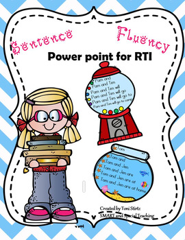 Reading Fluency Passages Powerpoint for Struggling Readers and RTI