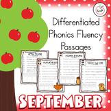 Reading Fluency Passages - September Morning Work - Phonic