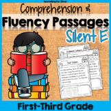 Reading Fluency Passages {Silent E} PDF & Digital Ready!