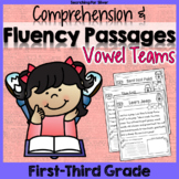 Reading Fluency Passages {Vowel Teams}