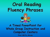 Reading Fluency Phrases- A Timed PowerPoint~ Centers or Whole Group