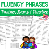 Reading Fluency Phrases Partner Game & Practice (390 Fry Phrases)