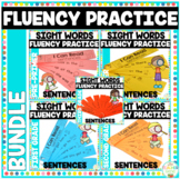 Reading Fluency Sentence Strips Bundle Picture Supported