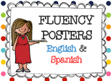 Reading Fluency Posters in English and Spanish