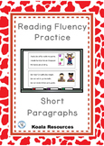 Reading Fluency Practice Short Paragraphs
