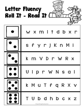 Reading Fluency Roll IT Read IT