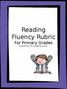 Reading Fluency Rubric