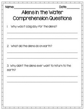Reading Fluency Sample Passages - FREEBIE
