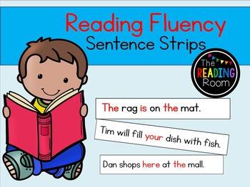 Reading Fluency Sentence Strips