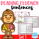 Reading Fluency Sentences Set 1
