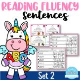 Reading Fluency Sentences Set 2