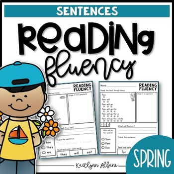 Reading Fluency Sentences - Spring