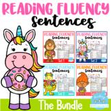 Reading Fluency Sentences The Bundle