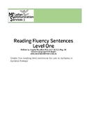 Reading Fluency Sentences for Aphasia