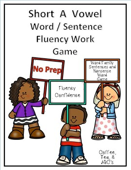 Reading Fluency Short A Word Families and Sentences
