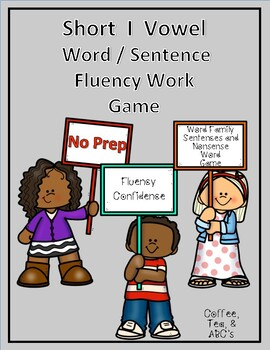 Reading Fluency Short I Word Families and Sentences