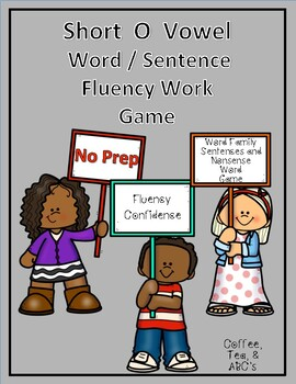 Reading Fluency Short O Word Families and Sentences