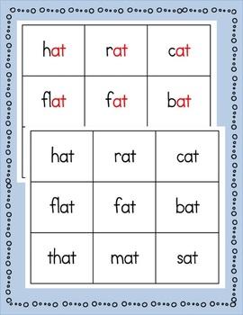Reading Fluency Short Vowel Word Families and Sentences (BUNDLE)