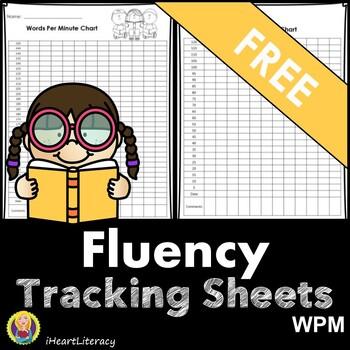 Free Reading Fluency Charts