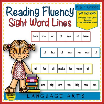 Reading Fluency:  Word Lines