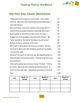 Reading Fluency Workbook