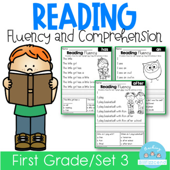 Reading Fluency and Comprehension (Set 3)