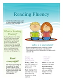 Reading Fluency flyer