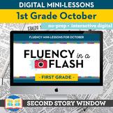 Reading Fluency in a Flash 1st Grade October • Digital Flu