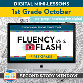 Reading Fluency in a Flash 1st Grade October • Digital Flu
