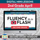 Reading Fluency in a Flash 2nd Grade April • Digital Fluen