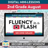 Reading Fluency in a Flash 2nd Grade August • Digital Flue