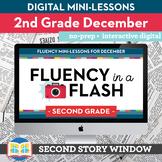 Reading Fluency in a Flash 2nd Grade December • Digital Fl