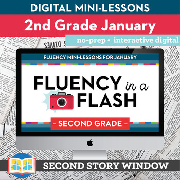 Reading Fluency in a Flash 2nd Grade January • Digital Fluency Mini Lessons