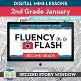 Reading Fluency in a Flash 2nd Grade January • Digital Flu