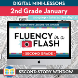 Reading Fluency in a Flash 2nd Grade January • Digital Flu