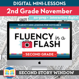 Reading Fluency in a Flash 2nd Grade November • Digital Fl