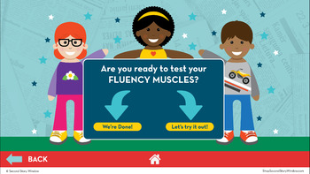 Reading Fluency in a Flash 2nd Grade October • Digital Fluency Mini Lessons