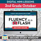 Reading Fluency in a Flash 2nd Grade October • Digital Flu