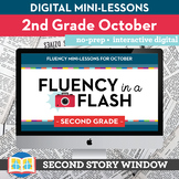 Reading Fluency in a Flash 2nd Grade October • Digital Flu