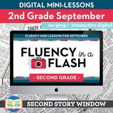 Reading Fluency in a Flash 2nd Grade September • Digital F