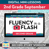 Reading Fluency in a Flash 2nd Grade September • Digital F