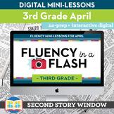 Reading Fluency in a Flash 3rd Grade April • Digital Fluen